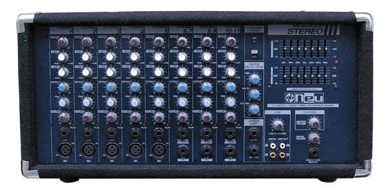 Neu MPA-9000III stereo パネル部分