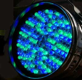 LED PAR64 BG