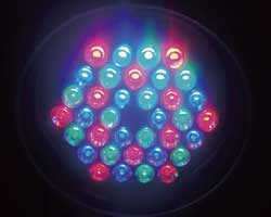 LED Par-361 color