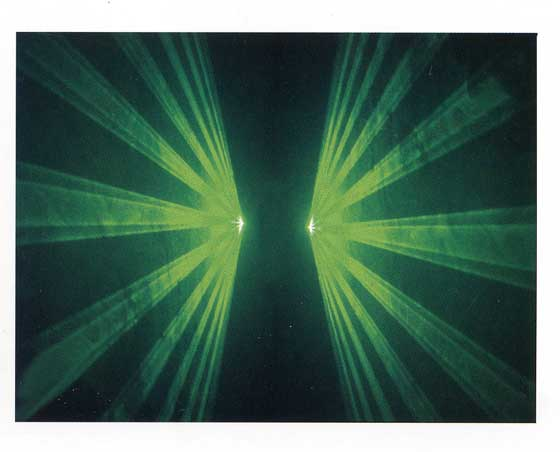 SL-A48G 高出力・緑レーザー パターン