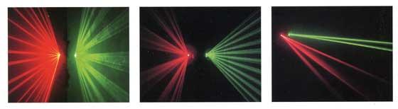 SL-A48RG 高出力・赤緑レーザー パターン